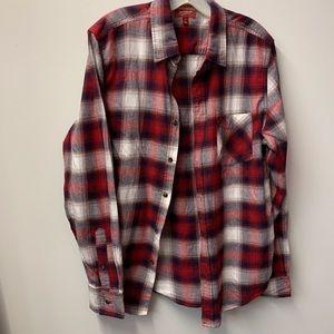 Arizona Jean Co. chili pepper plaid flannel shirt